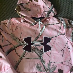 Under Armour Realtree Pink Hoodie Pullover
